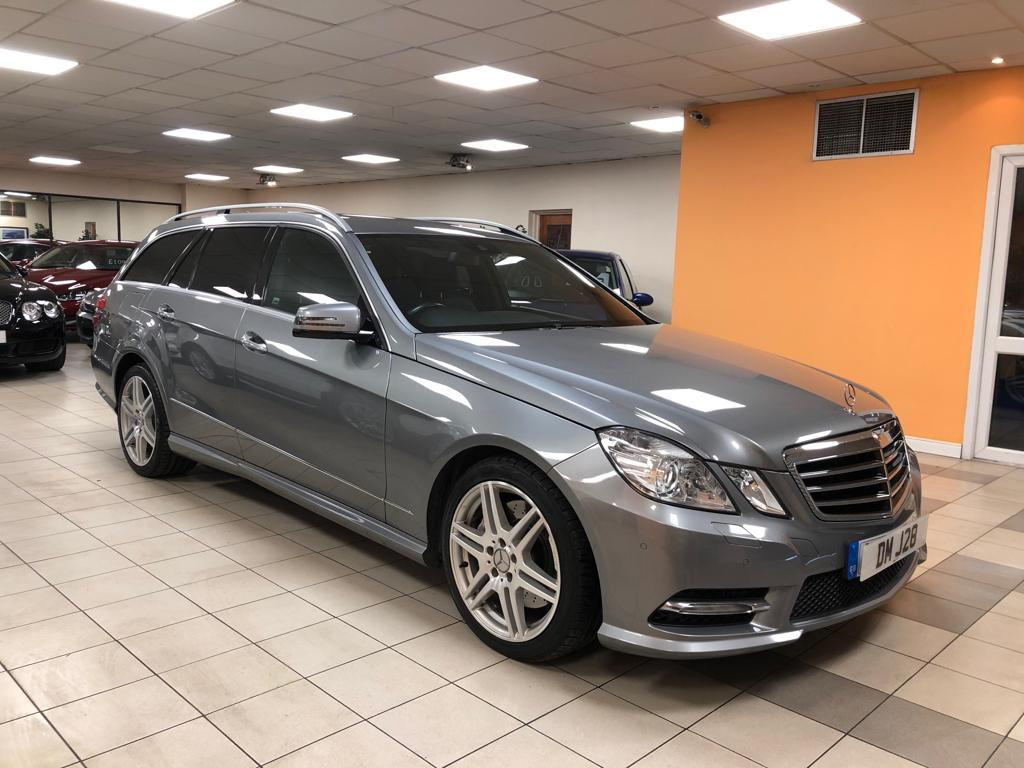 MERCEDES-BENZ E-CLASS 3.0 E350 CDI BLUEEFFICIENCY S/S SPORT 5DR AUTOMATIC