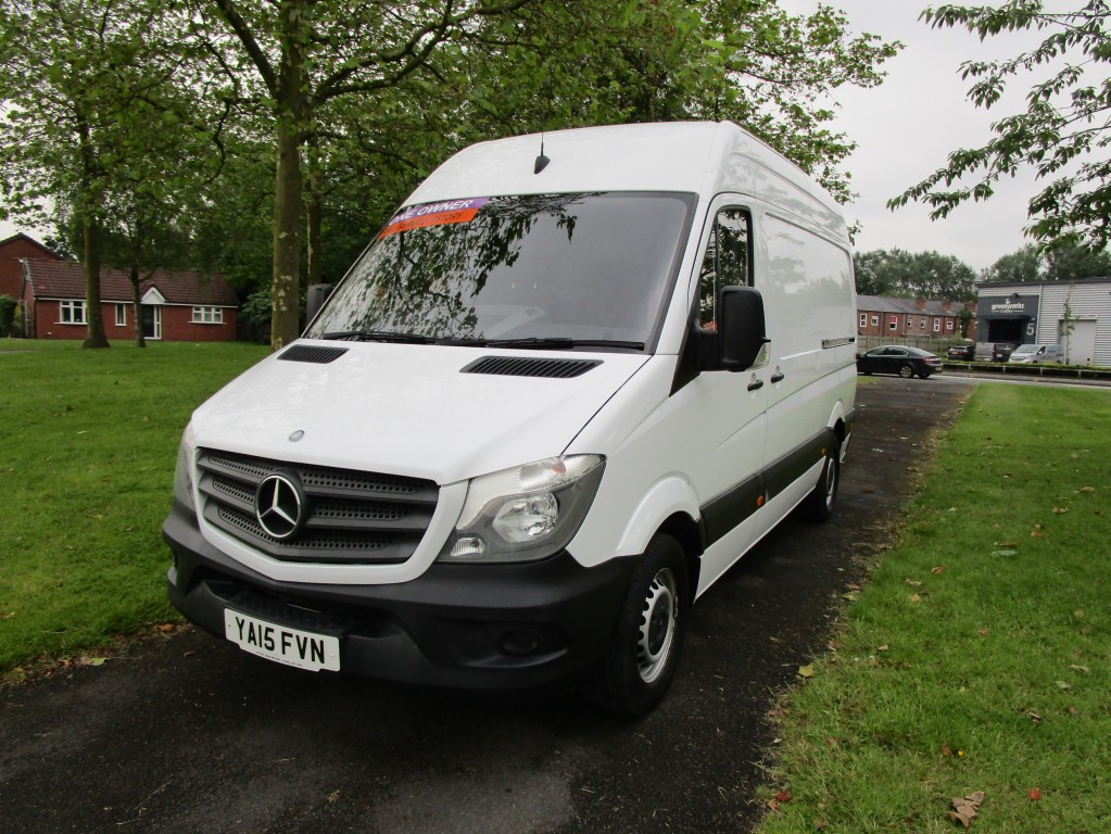 MERCEDES-BENZ SPRINTER 313 CDI MWB (FACE-LIFT) - FSH