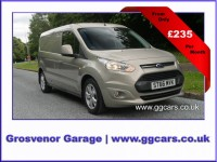 FORD TRANSIT CONNECT 1.5 240 LIMITED P/V