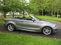BMW 1 SERIES CONVERTIBLE 2.0 118D M SPORT  -AIR CON - POWER ROOF - HEATED SEATS