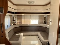 HOBBY EXCELLENT 540 UFF 4 berth Fixed island bed