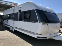 HOBBY Prestige 720 kwfu Fixed bunk beds and double New 2019
