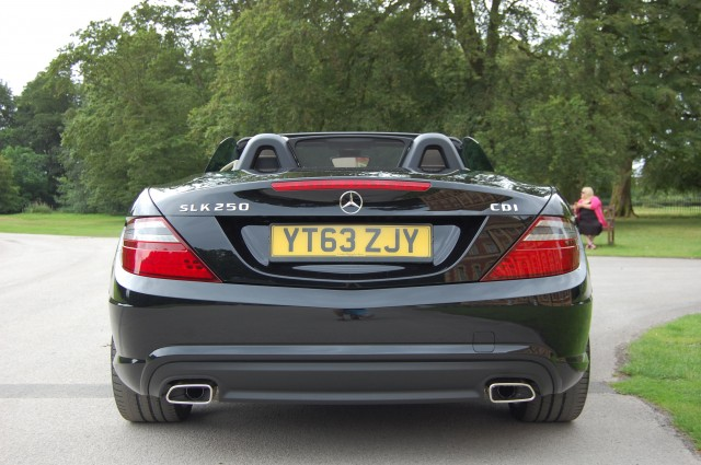 MERCEDES-BENZ SLK 2.1 SLK250 CDI BLUEEFFICIENCY AMG SPORT 2DR AUTOMATIC