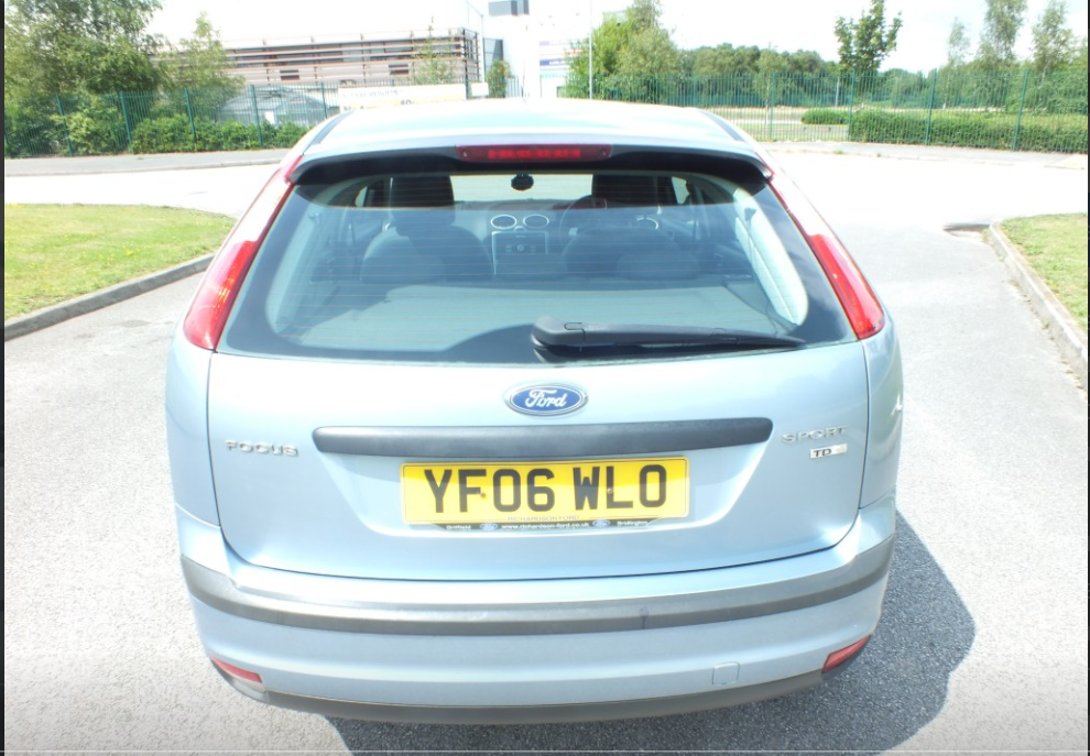 FORD FOCUS 1.8 SPORT TDCI 5DR