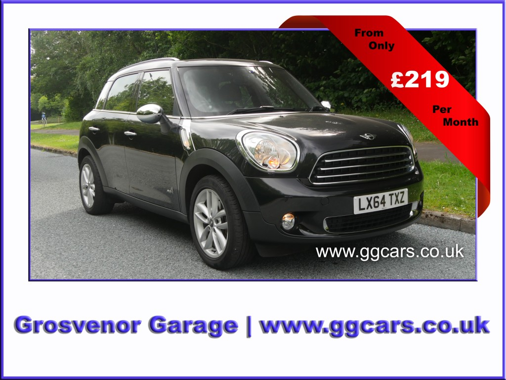 MINI COUNTRYMAN 1.6 COOPER ALL4 5DR AUTOMATIC