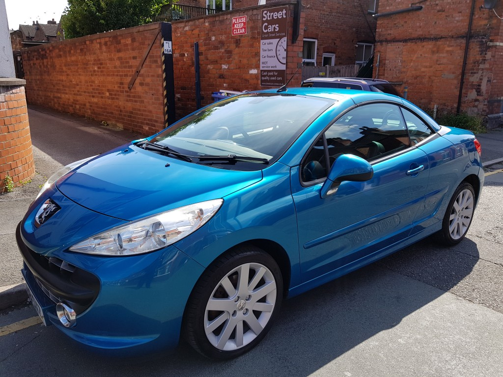 PEUGEOT 207 1 6 GT COUPE CABRIOLET 2DR For Sale in Crewe