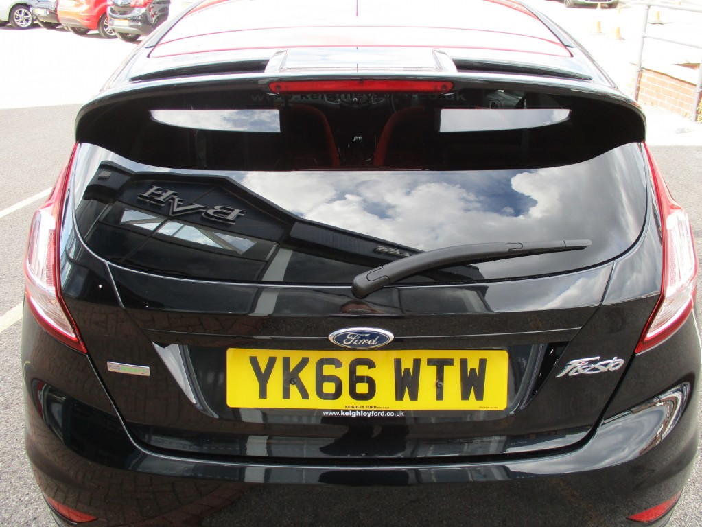 FORD FIESTA 1.0 ZETEC S BLACK EDITION 3DR
