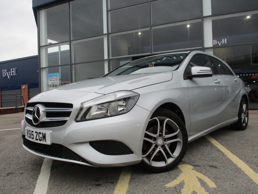 MERCEDES-BENZ A-CLASS 1.6 A180 BLUEEFFICIENCY SPORT 5DR AUTOMATIC