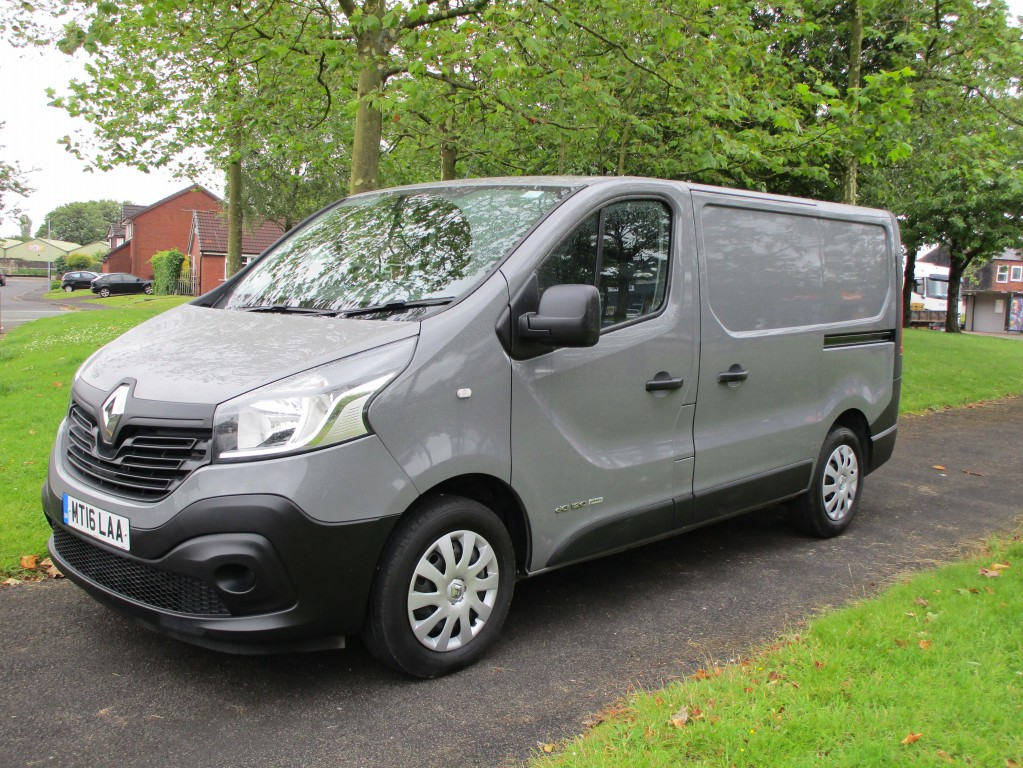 RENAULT TRAFIC 1.6 SL27 BUSINESS ENERGY DCI