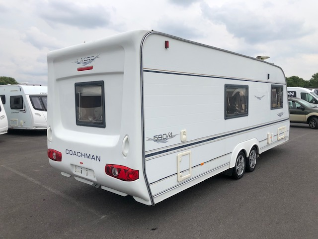 COACHMAN LASER 590/4 with AIR-CON