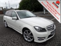 MERCEDES-BENZ C-CLASS 2.1 C220 CDI BLUEEFFICIENCY SPORT 5DR