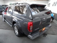 NISSAN NAVARA 3.0 OUTLAW DCI 4X4 SHR DOUBLE CAB PICKUP AUTO 4WD SAT NAV LEATHER SUNROOF ALLOYS A/C NO VAT