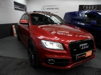 AUDI Q5 2.0 TDI QUATTRO S LINE PLUS AUTO S-TRONIC PANORAMIC GLASS SUNROOF NAPPA  LEATHER NAV UPGRADE ALLOYS