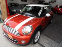 MINI HATCH 1.6 COOPER D 3DR CHILI PK CLIMATE IN  SPICE ORANGE METALLIC FSH 1 PRE OWNER FREE TAX