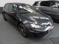 VOLKSWAGEN GOLF 2.0 GTD DSG 5DR HATCH SEMI AUTO PRO NAV HEATED LEATHER INTERIOR BIG ALLOYS CARBON GREY METALLIC
