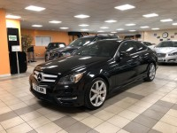MERCEDES-BENZ C-CLASS 2.1 C250 CDI BLUEEFFICIENCY AMG SPORT 2DR AUTOMATIC