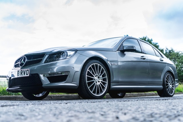 Used MERCEDES-BENZ C-CLASS 6.2 C63 AMG 4DR AUTOMATIC in Lancashire