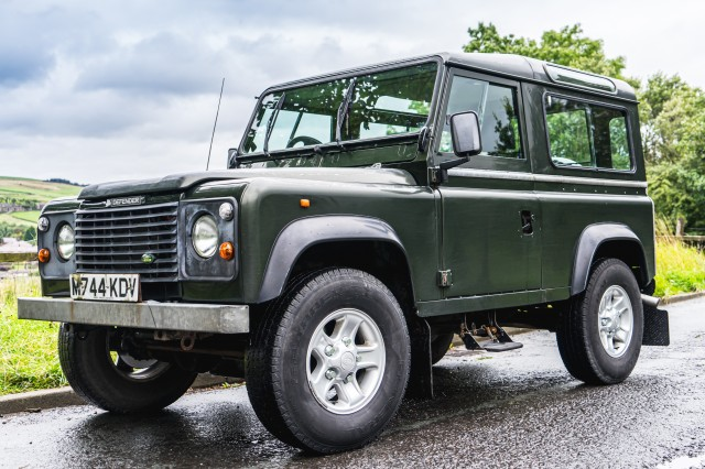 Used LAND ROVER DEFENDER 2.5 90 HT TDI 2DR in Lancashire