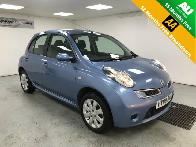 Used NISSAN MICRA 1.2 ACENTA PLUS 5DR AUTOMATIC in West Yorkshire