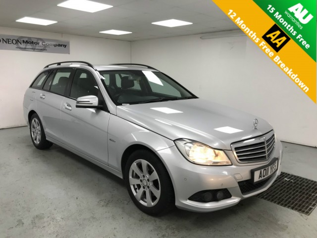 Used MERCEDES-BENZ C-CLASS 2.1 C220 CDI BLUEEFFICIENCY SE 5DR AUTOMATIC in West Yorkshire