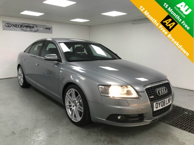 Used AUDI A6 3.0 TDI QUATTRO S LINE LE MANS TDV 4DR AUTOMATIC in West Yorkshire