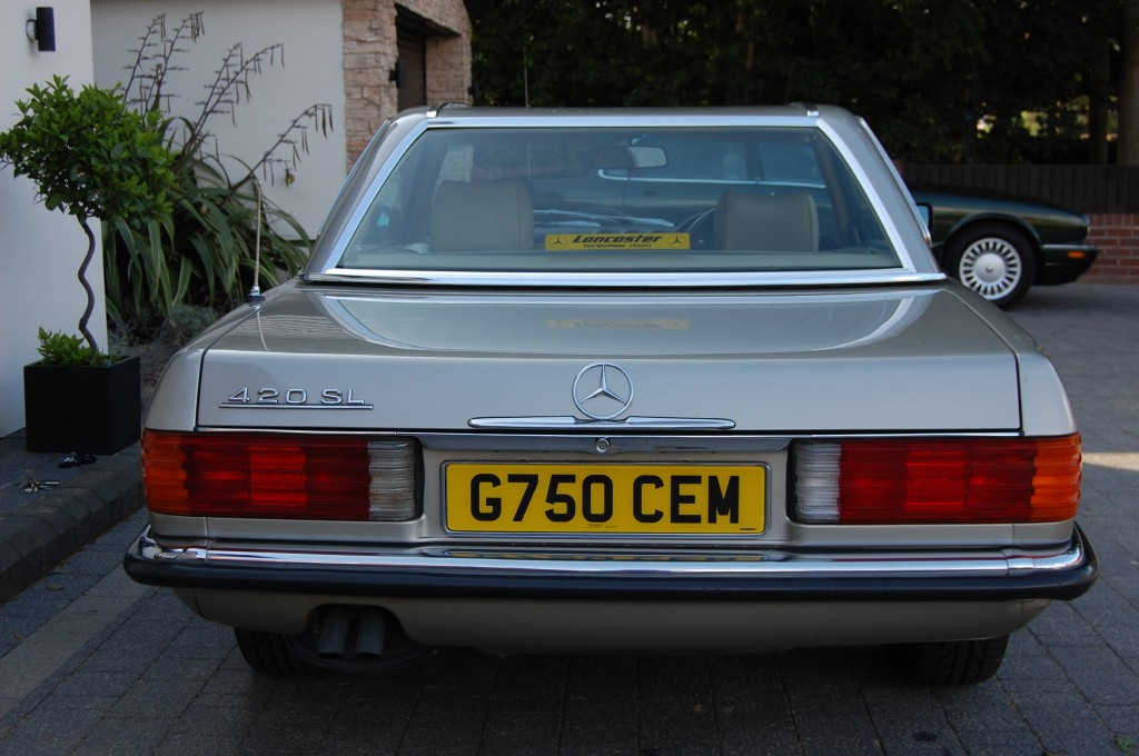 MERCEDES-BENZ SL 420 SL