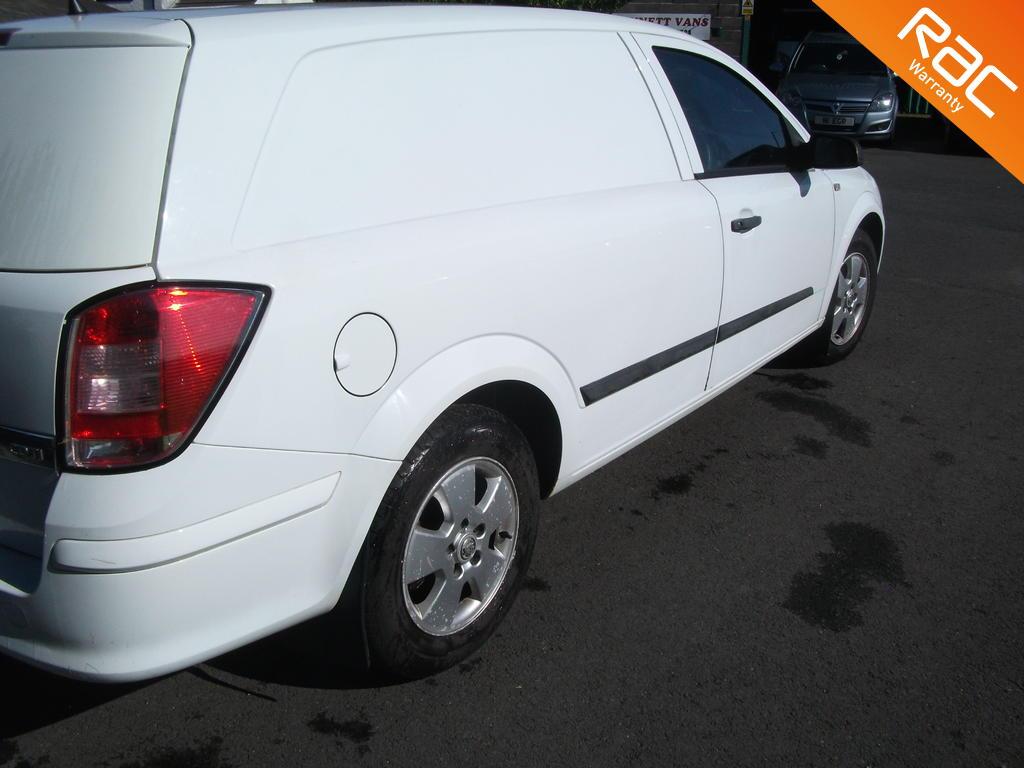 VAUXHALL ASTRA DIESEL CAR DERIVED VAN 1.2 CLUB CDTI