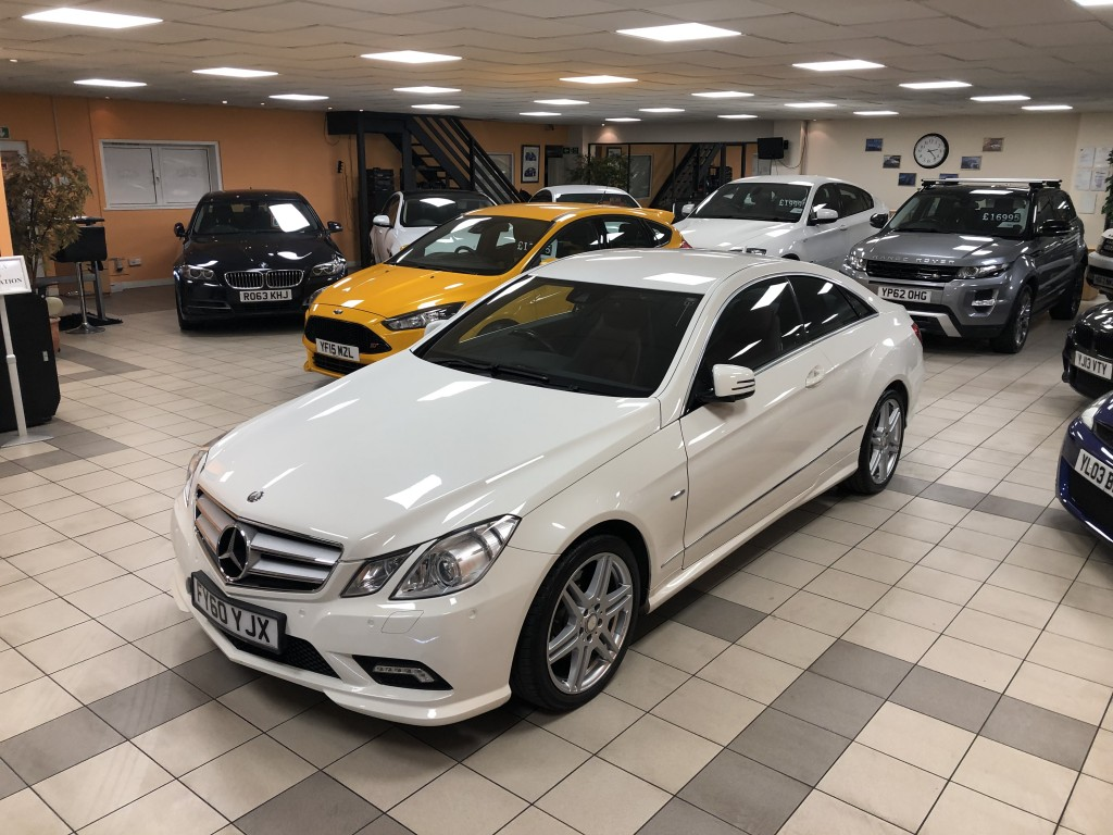 MERCEDES-BENZ E-CLASS 3.0 E350 CDI BLUEEFFICIENCY SPORT 2DR AUTOMATIC