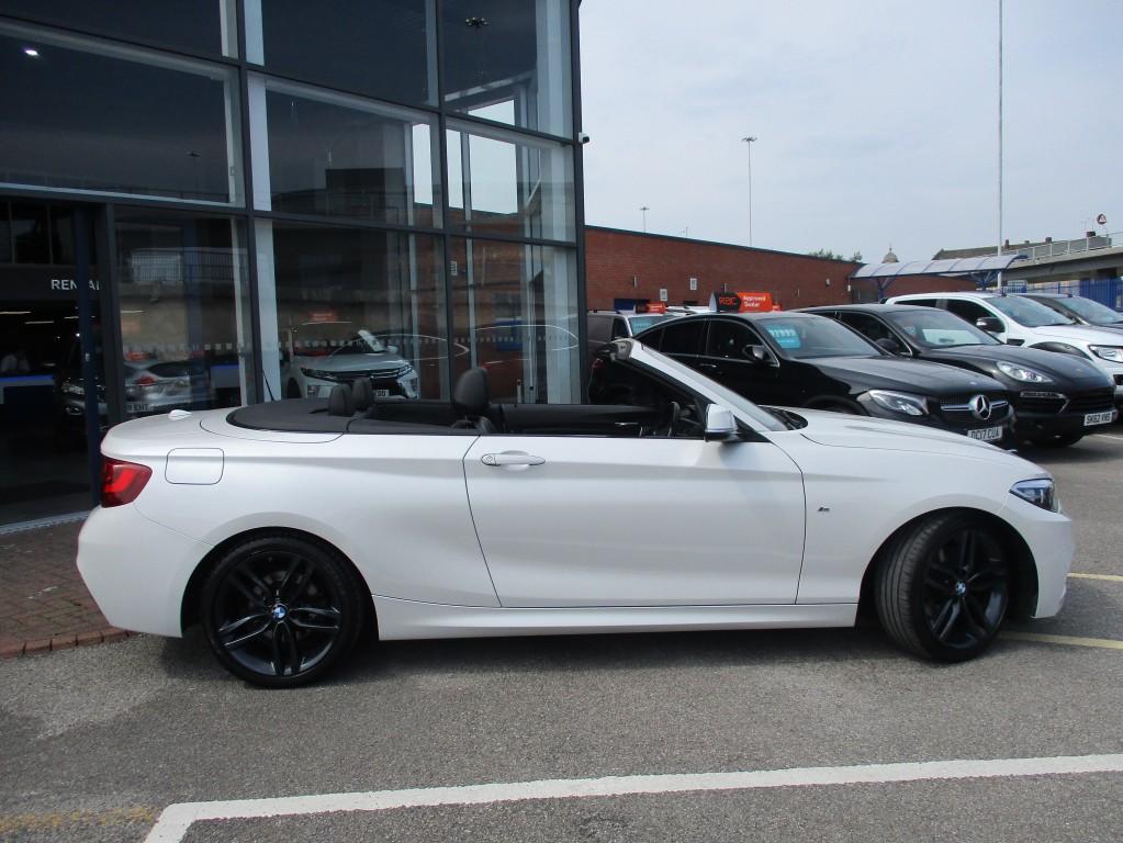 BMW 2 SERIES 2.0 220D M SPORT 2DR AUTOMATIC