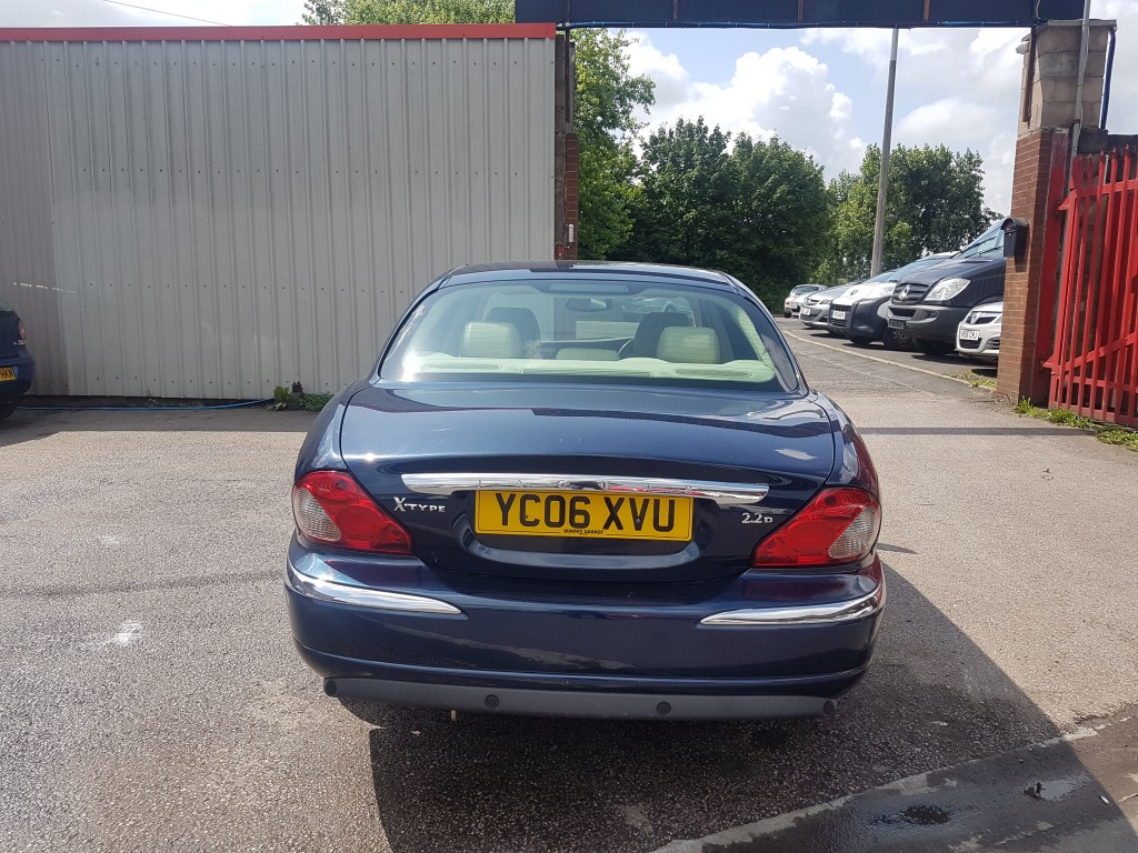 JAGUAR X-TYPE 2.2 SE 4DR