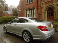 MERCEDES-BENZ C-CLASS 2.1 C220 CDI BLUEEFFICIENCY AMG SPORT 2DR