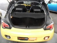 VAUXHALL ADAM 1.4 GLAM HATCH EXTREME YELLOW A/C UPGRADE ALLOYS 3DR HATCH FSH 1 PRE OWNER HIGH SPEC CHEQUERED INTE