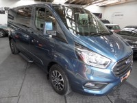 FORD TRANSIT CUSTOM 2.0 320 LIMITED 170PS DCIV L2 H1 6 SEATS DOUBLE-CAB VAN LWB NAV ICE PACK 24 ADAPTIVE CRUISE INC VAT