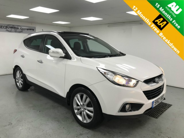 Used HYUNDAI IX35 2.0 PREMIUM CRDI 4WD 5DR in West Yorkshire