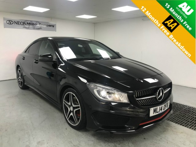 Used MERCEDES-BENZ CLA 2.1 CLA220 CDI AMG SPORT 4DR SEMI AUTOMATIC in West Yorkshire