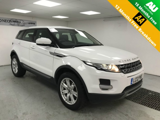 Used LAND ROVER RANGE ROVER EVOQUE 2.2 SD4 PURE TECH 5DR AUTOMATIC in West Yorkshire