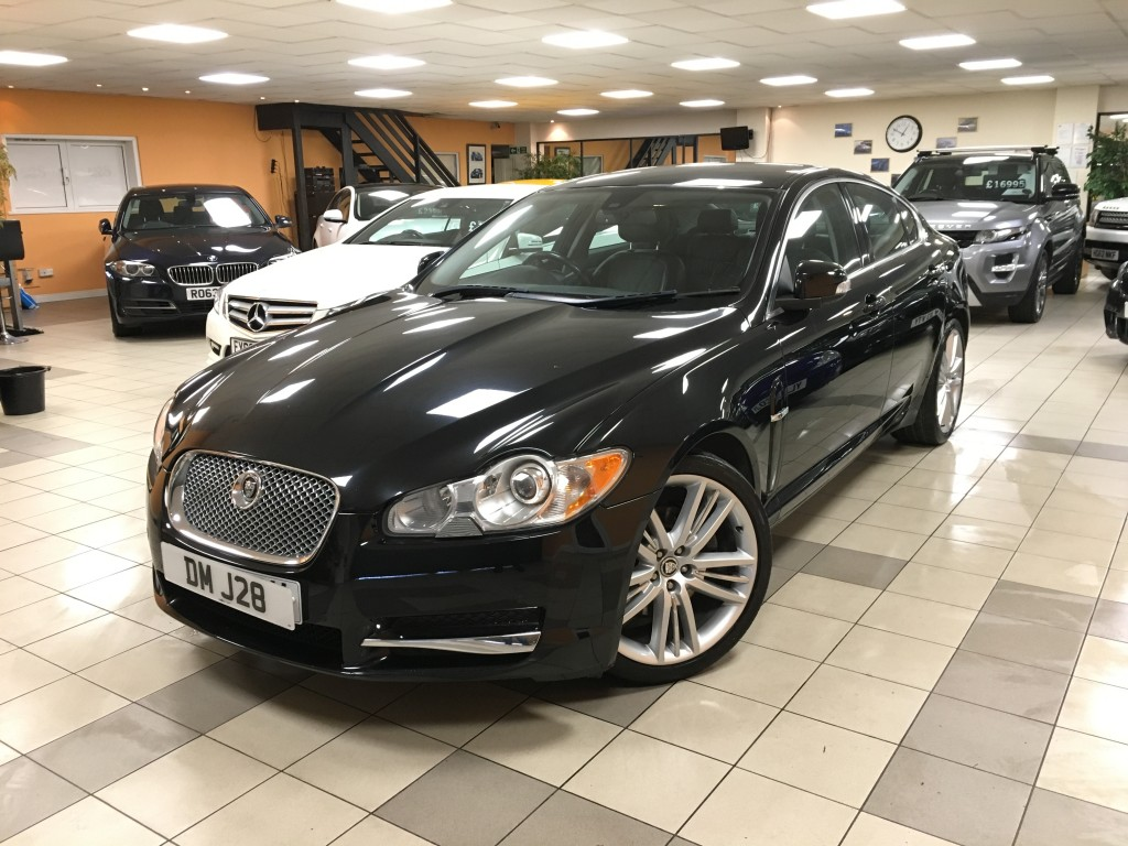 JAGUAR XF 2.7 PREMIUM LUXURY V6 4DR AUTOMATIC