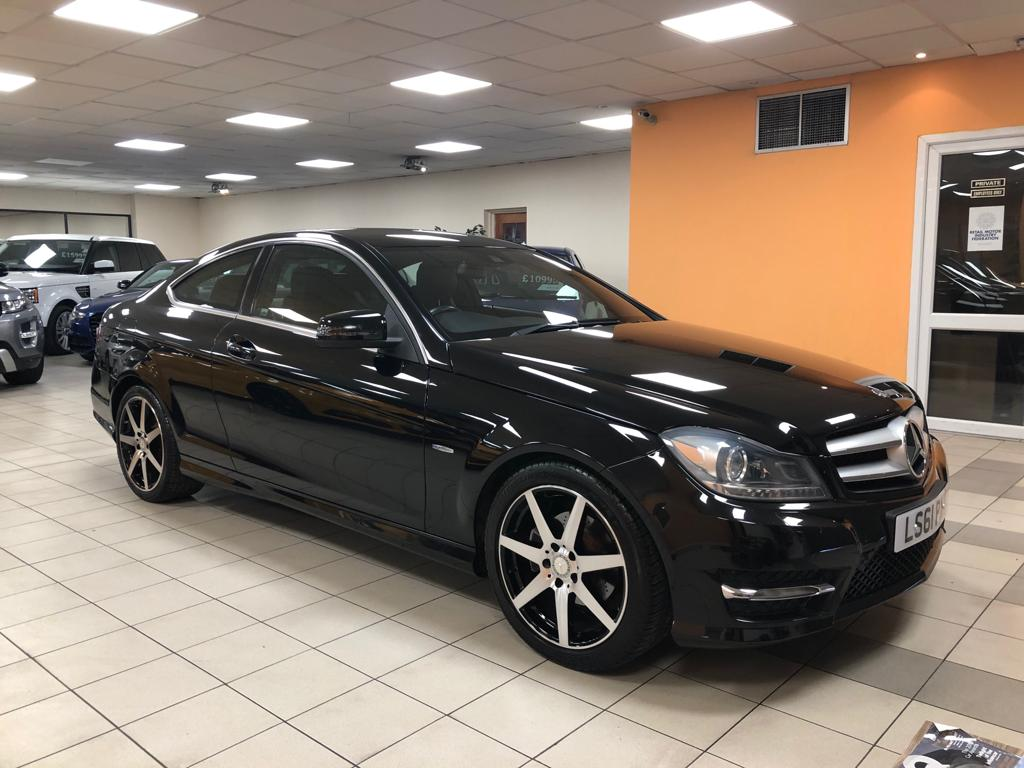 MERCEDES-BENZ C-CLASS 2.1 C220 CDI BLUEEFFICIENCY AMG SPORT ED125 2DR AUTOMATIC