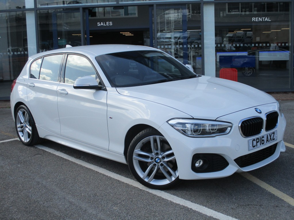 BMW 1 SERIES 2.0 125D M SPORT 5DR AUTOMATIC