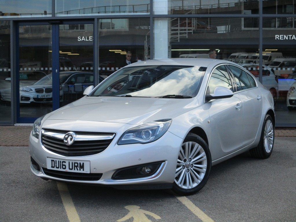 VAUXHALL INSIGNIA 2.0 TECH LINE CDTI 5DR AUTOMATIC