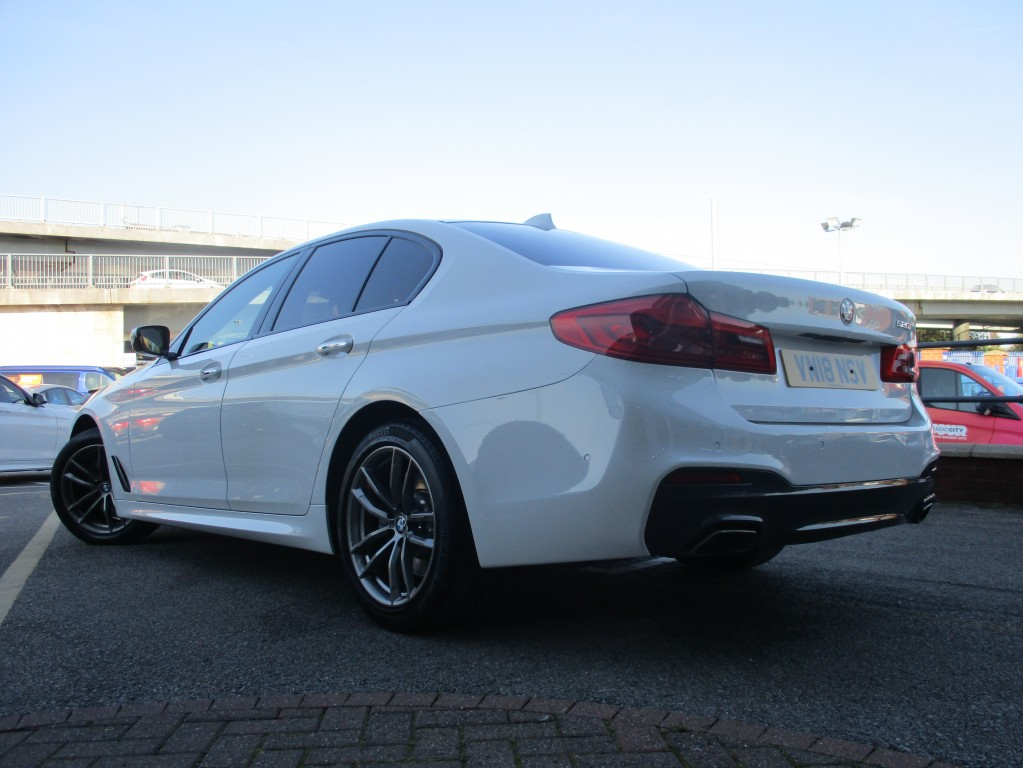 BMW 5 SERIES 2.0 520I M SPORT 4DR AUTOMATIC