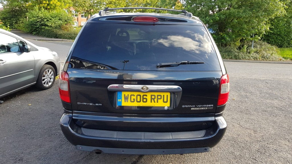 CHRYSLER GRAND VOYAGER 2.8 LIMITED 5DR AUTOMATIC