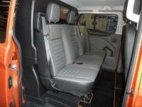FORD TRANSIT CUSTOM 2.0 AUTO 320 LIMITED DCIV 6 SEATS ECOBLUE AUTOMATIC L2 H1 170PS CREWCAB LEATHER ELECTRIC HEATED SEA