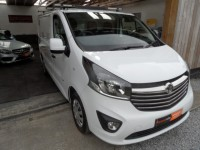 VAUXHALL VIVARO 1.6 2700 L1H1 CDTI BI TURBO 6 SPEED SPORTIVE ECOFLEX S/S a/c bluetooth ply lined low mileage fsh