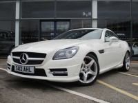 MERCEDES-BENZ SLK 1.8 SLK200 BLUEEFFICIENCY AMG SPORT 2DR AUTOMATIC