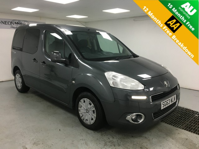 Used PEUGEOT PARTNER 1.6 TEPEE S 5DR in West Yorkshire