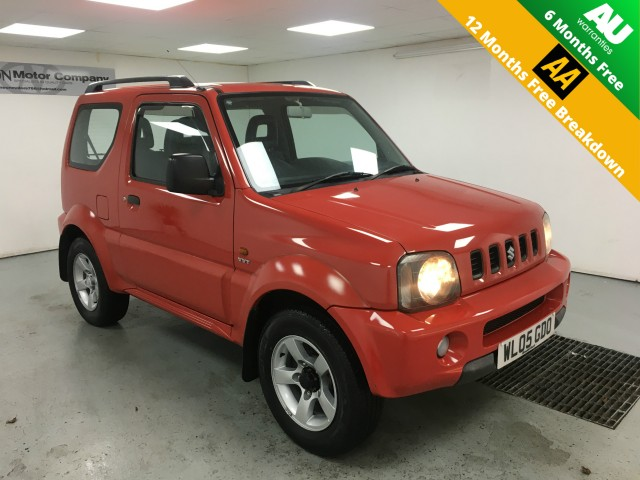 Used SUZUKI JIMNY 1.3 JLX 3DR in West Yorkshire