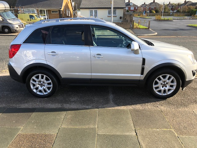 VAUXHALL ANTARA 2.2 EXCLUSIV CDTI 4WD S/S 5DR
