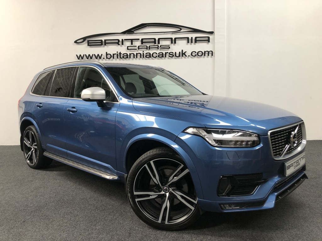 VOLVO XC90 2.0 D5 POWERPULSE R-DESIGN AWD 5DR AUTOMATIC