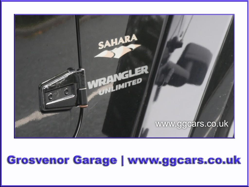 JEEP WRANGLER 2.8 SAHARA UNLIMITED 4DR